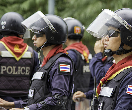 Police in Thailand