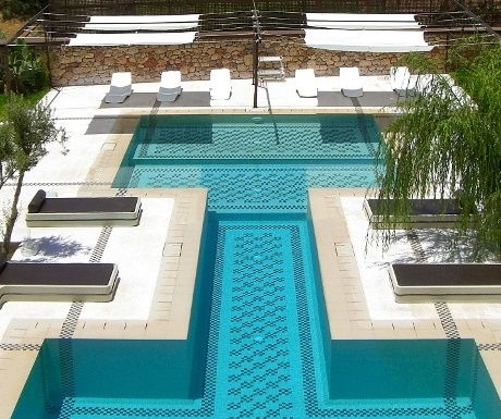 Pool at Domaine de Malika, Atlas Mountains