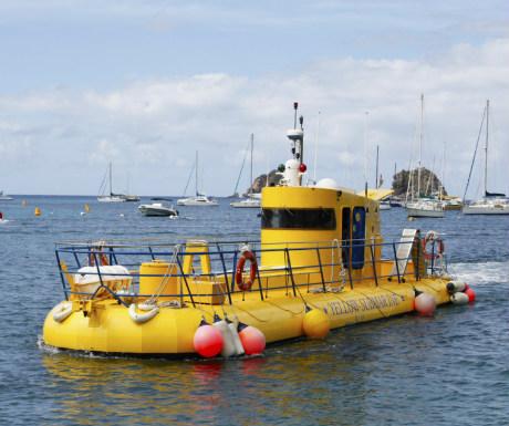 St Barths submarine
