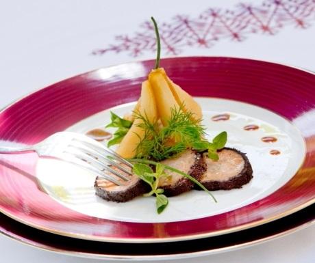 Villa des Orangers French restaurant dish
