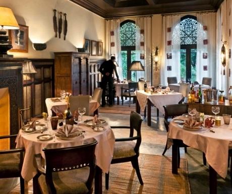 Villa des Orangers Moroccan restaurant