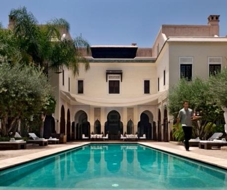 Villa des Orangers main pool