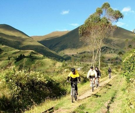 Cycling in Imbabura