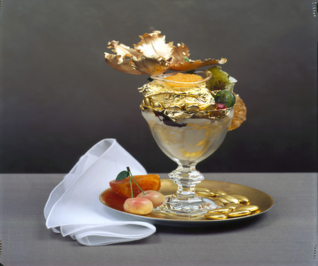 Dessert Ideas #3 : Golden Opulence Sundae