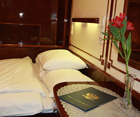 Golden Eagle Trains Imperial Suite