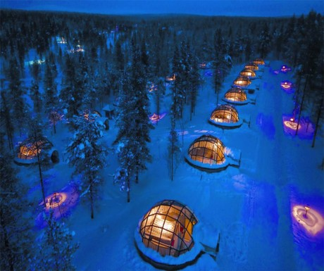 Boutique Hotel #2 : Kakslauttanen Igloo Village, Finland