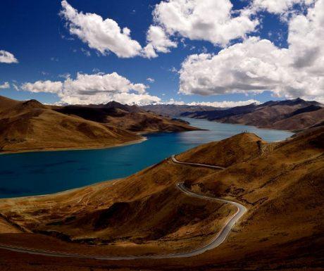 Lake Tangra Yumco, Tibet