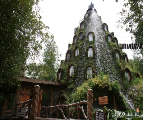 Boutique Hotel #7 : Magic Mountain Hotel, Huilo Huilo Reserve, Chile