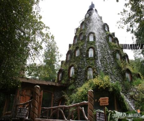 Boutique Hotel #7 : Magic Mountain Hotel, Huilo Huilo Reserve, Chile