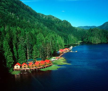 Nimmo Bay Wilderness Resort