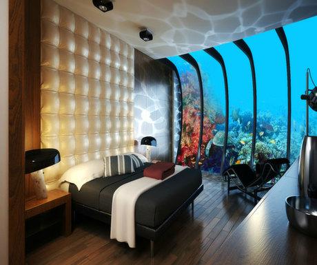 Boutique Hotel #6 : Poseidon, somewhere below the sea, Fiji