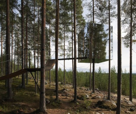 Boutique Hotel #1 : Tree Hotel, Harads, Sweden