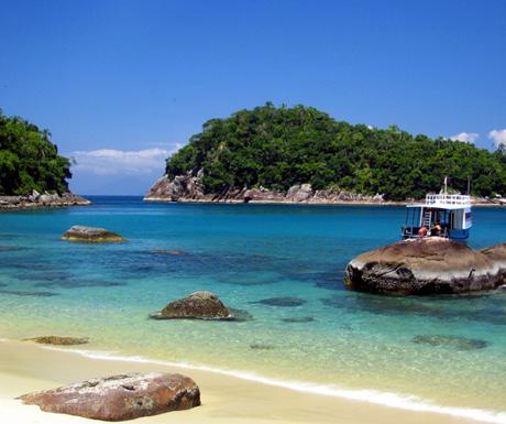 Island hopping in Brazil