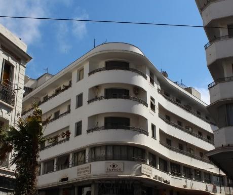 Art Nouveau building, Casablanca