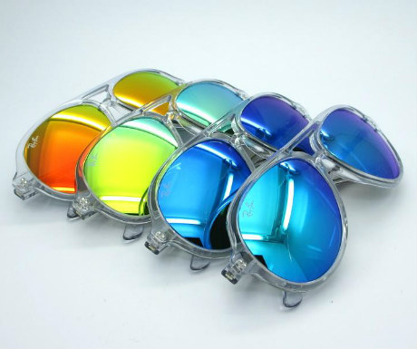 Aviator sunglasses from Ray Ban