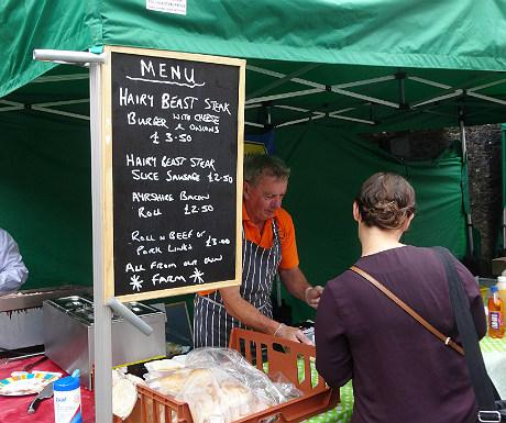 Drumlanrig farmers market 2