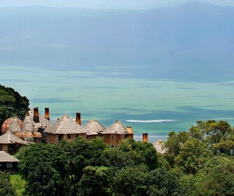 Lodge in Tanzania