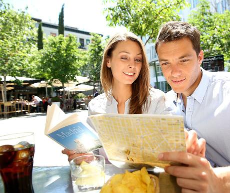 Madrid tourists