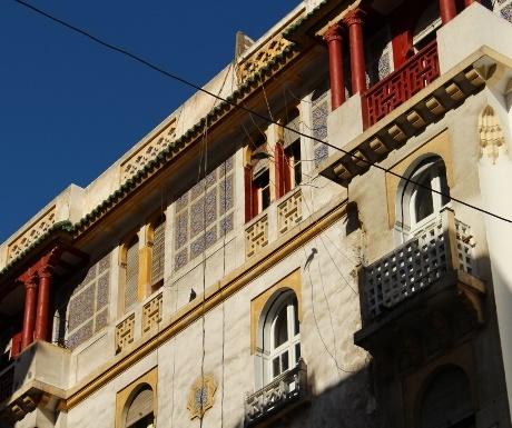 Neo Mauresque building Casablanca