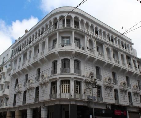 Neo Mauresque building in Casablanca