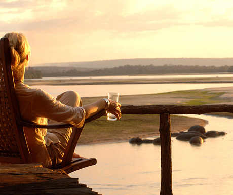Relaxing in Tanzania