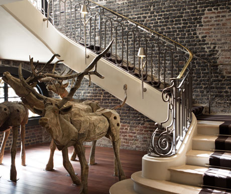 Royal Monceau staircase