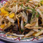 Recipe of the week: Pan-seared aubergine and fennel salad