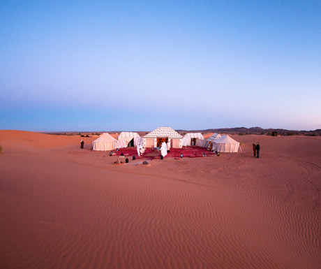Tented camp near Merzouga, Morocco