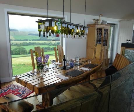 Three Glens dining area