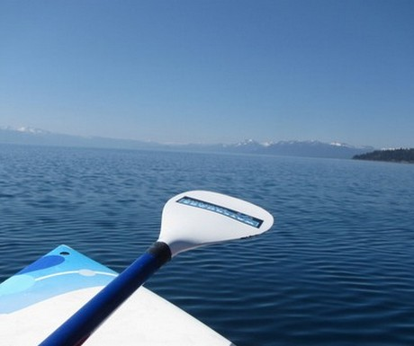 View from SUP Lake Tahoe