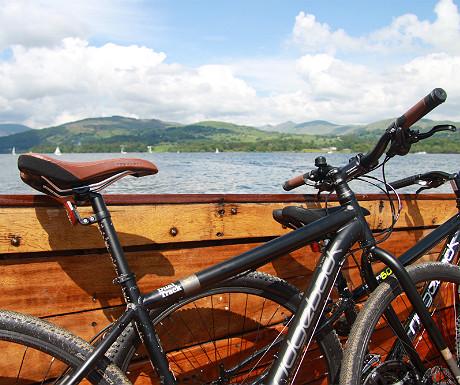 Windermere Bike Boat