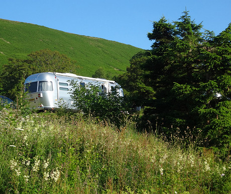 Airstream on The Quiet Site