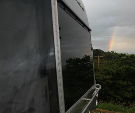 Airstream rainbow