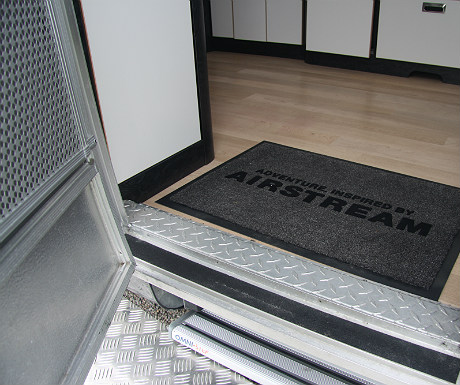 Airstream welcome mat