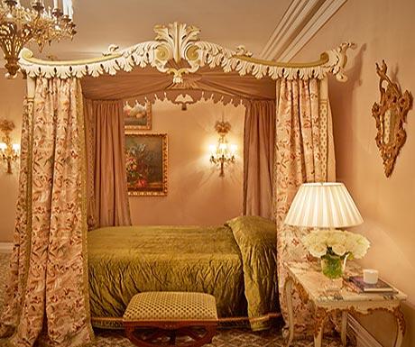 Ashford Castle bedroom