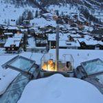 Luxury ski chalet Olympics