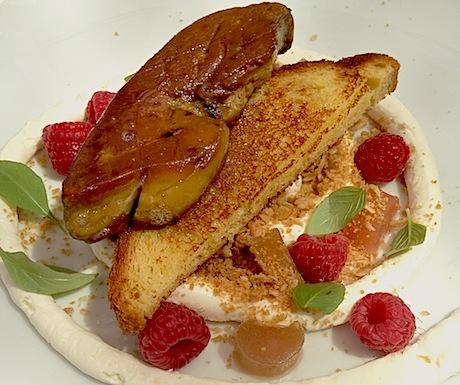 Brasserie T foie interpretation