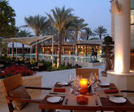 Dinner on terrace