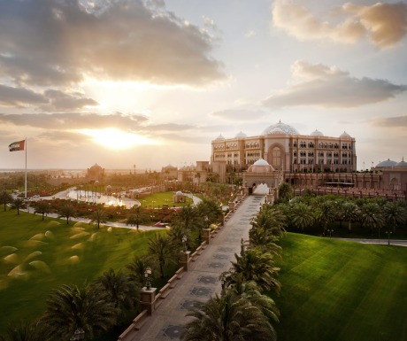 Emirates Palace sunset
