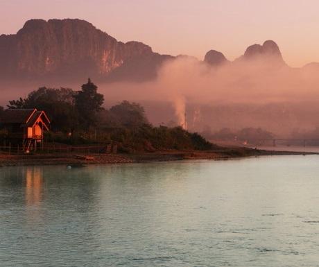 Mist over the Mekong