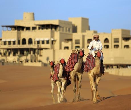 Qasr Al Sarab camel trekking