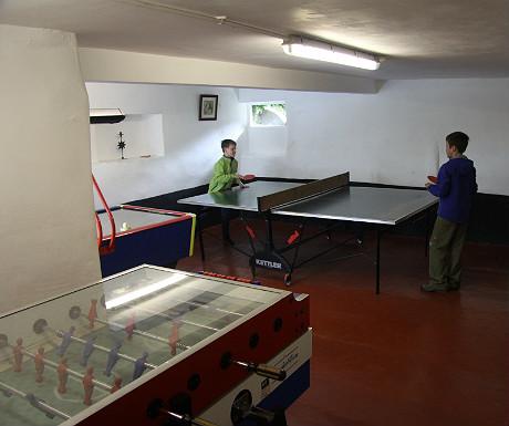 Quiet Site games room