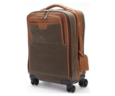 Korchmar Adventure Spinner 20 Leather Carry-On