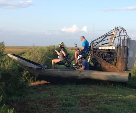Airboat & Alligator ride