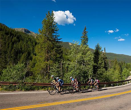 Andy climbing Independence Pass