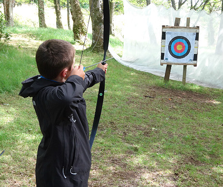 Archery at Raasay