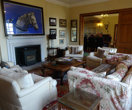 Arisaig House morning room
