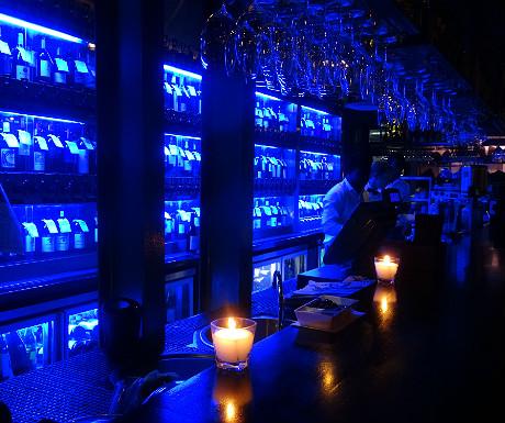 Bar at Belthazar Restaurant