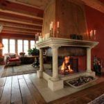 A luxury ski chalet built for Royalty