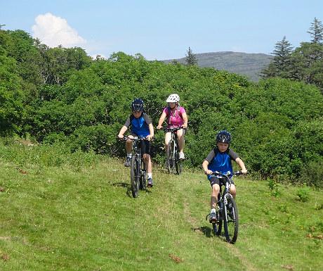 Cycling on Eigg
